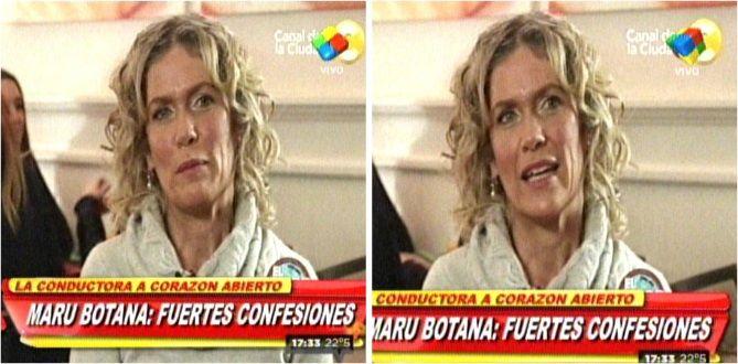 La difícil confesión de Maru Botana: Pensé en matarme pero la vida valía la pena
