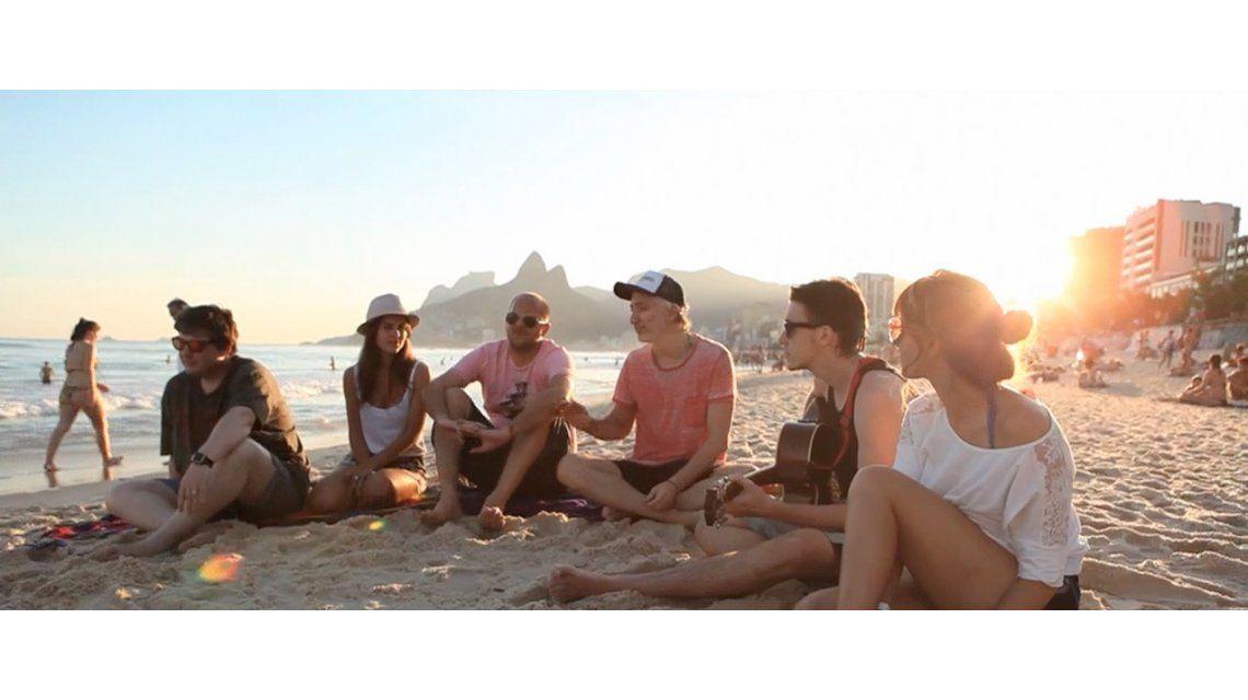 Andy K. y compañeros te muestran cómo fue la convivencia durante el Mundial de Brasil