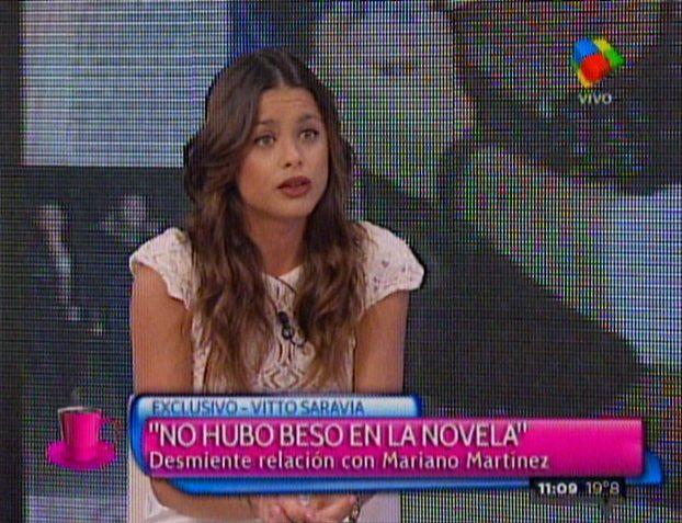 Vitto Saravia habló de Mariano Martínez: Es lindo, es un bombón