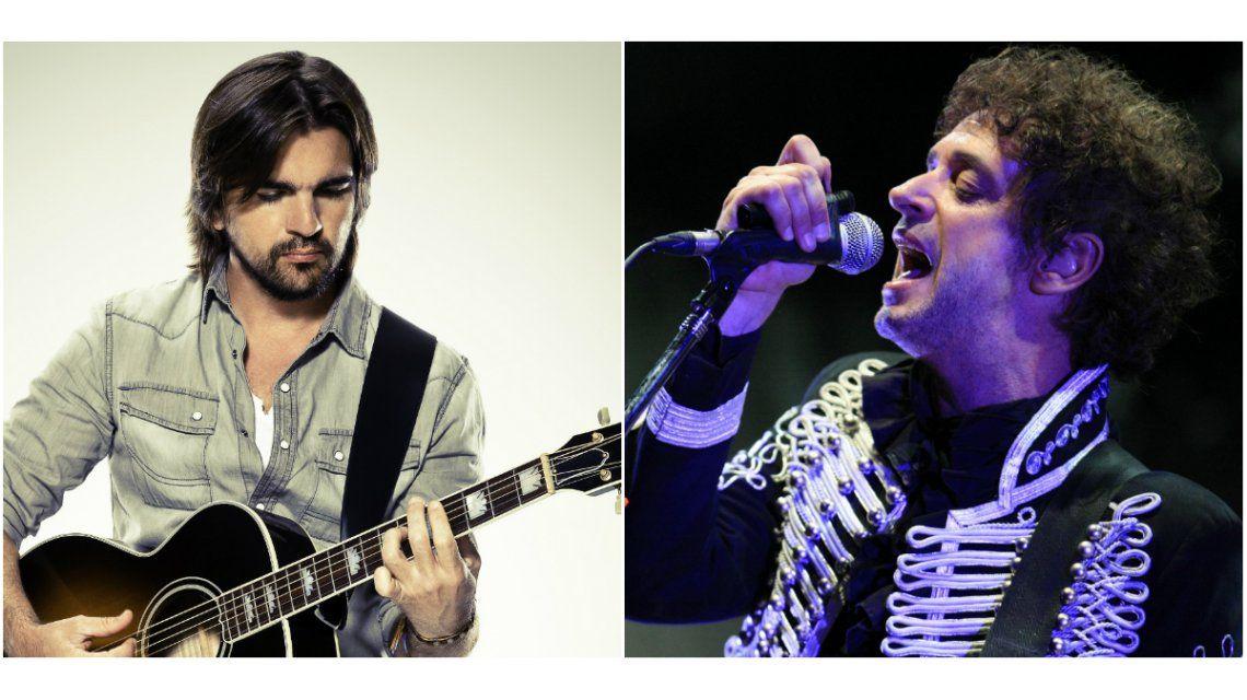 Juanes homenajeó a Cerati y reveló que tiene una hermana en coma hace 20 años