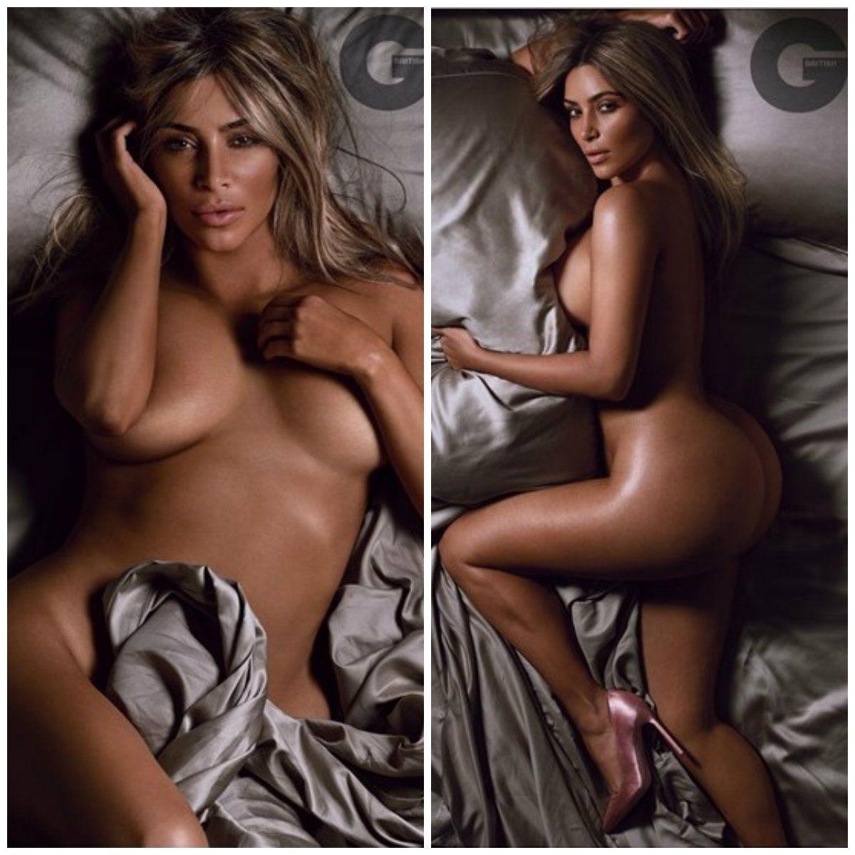 Kim Kardashian se desnudó por primera vez desde que se convirtió en mamá