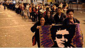 El último adiós a Gustavo Cerati: miles de fanáticos despiden al artista