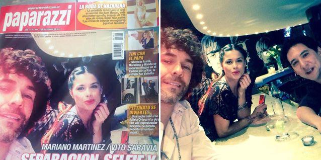 Ante los rumores de romance con Vito Saravia, Mariano Martínez muestra la foto original
