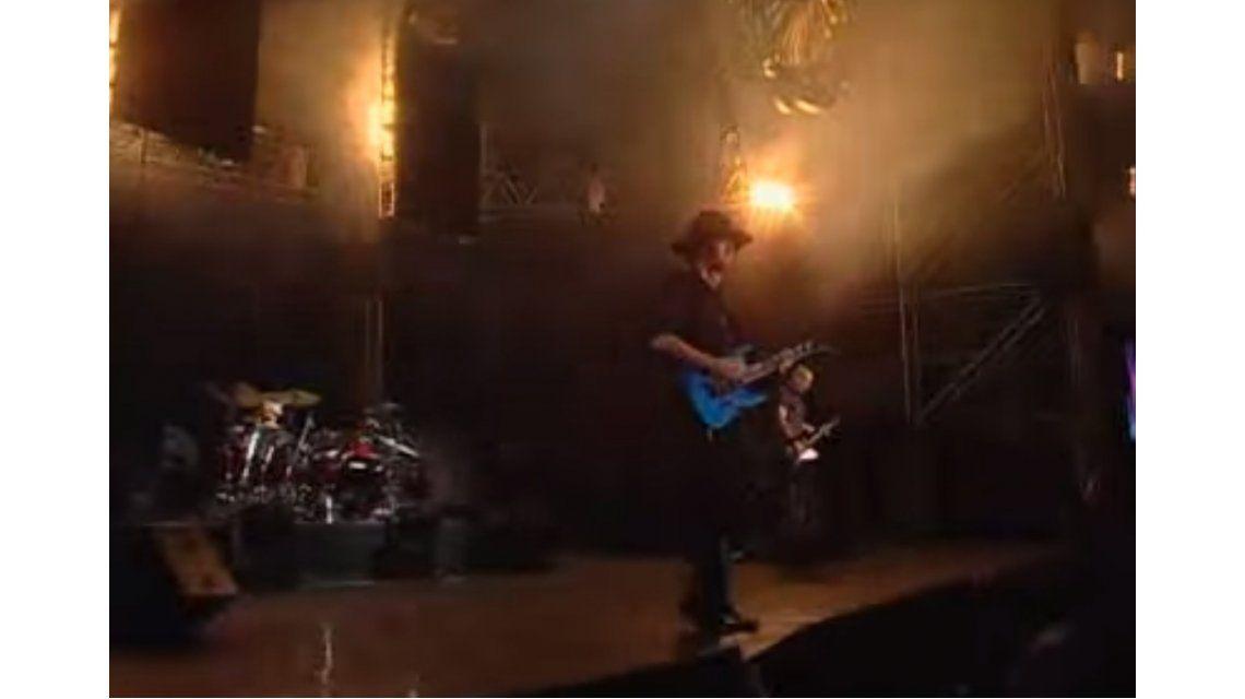 La muerte de Cerati: su último show con Soda Stereo