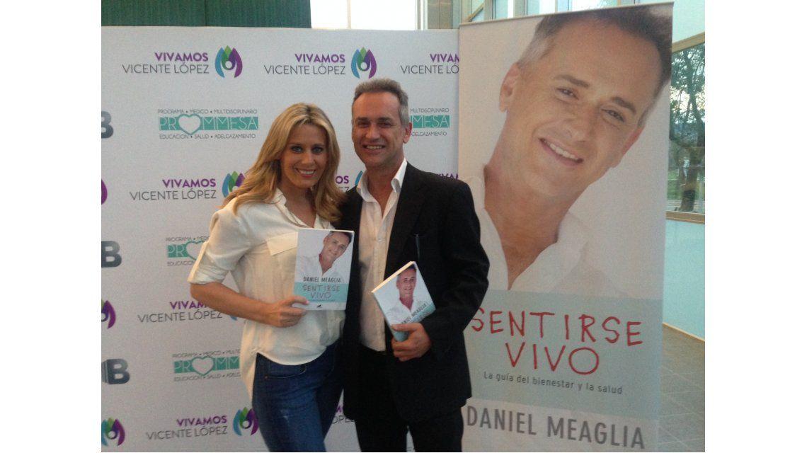 El personal trainer de los famosos presentó su libro Sentirse vivo