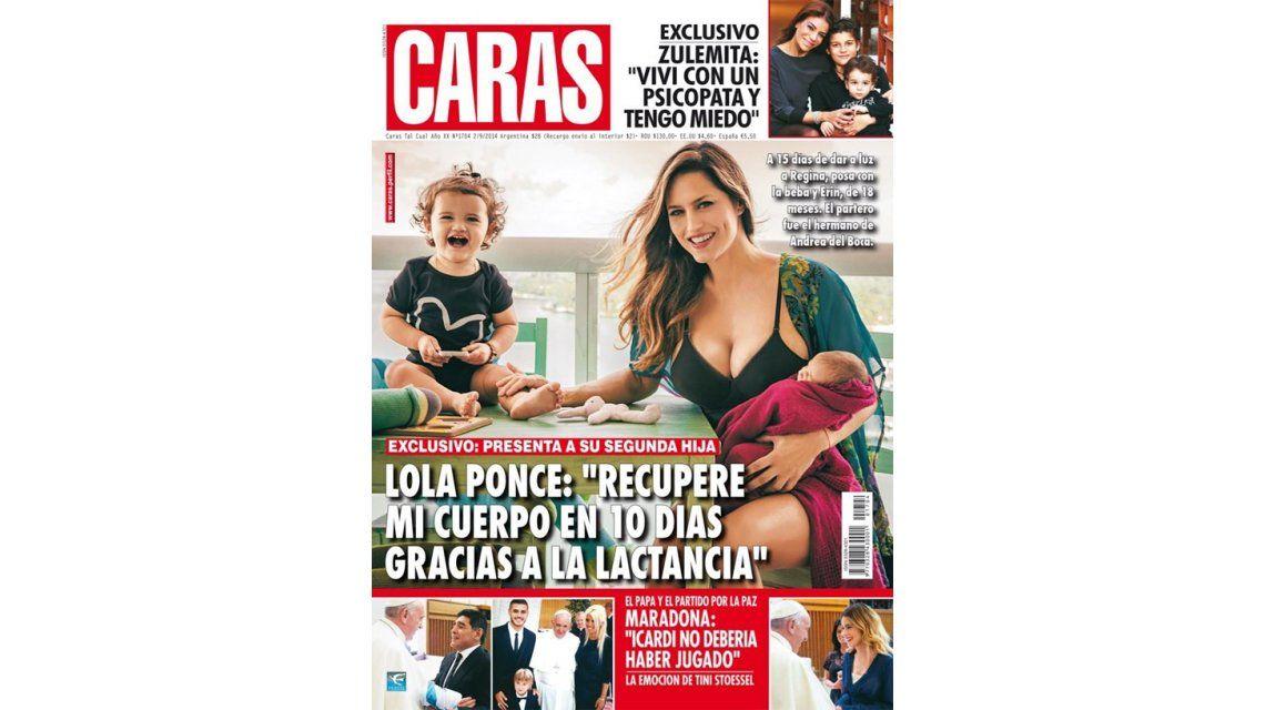 Guillermina Valdés, infartante y Lola Ponce junto a su hija, en las tapas de las revistas