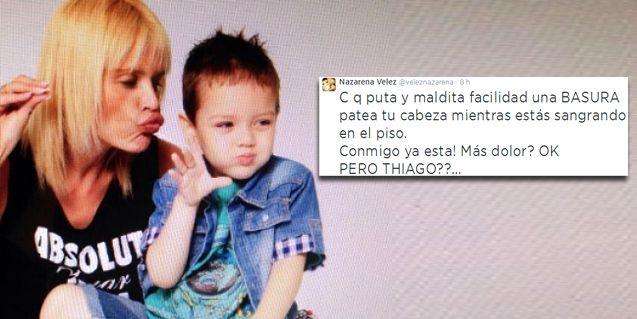 El misterioso mensaje de Nazarena Vélez: Conmigo ya está... Pero Thiago?