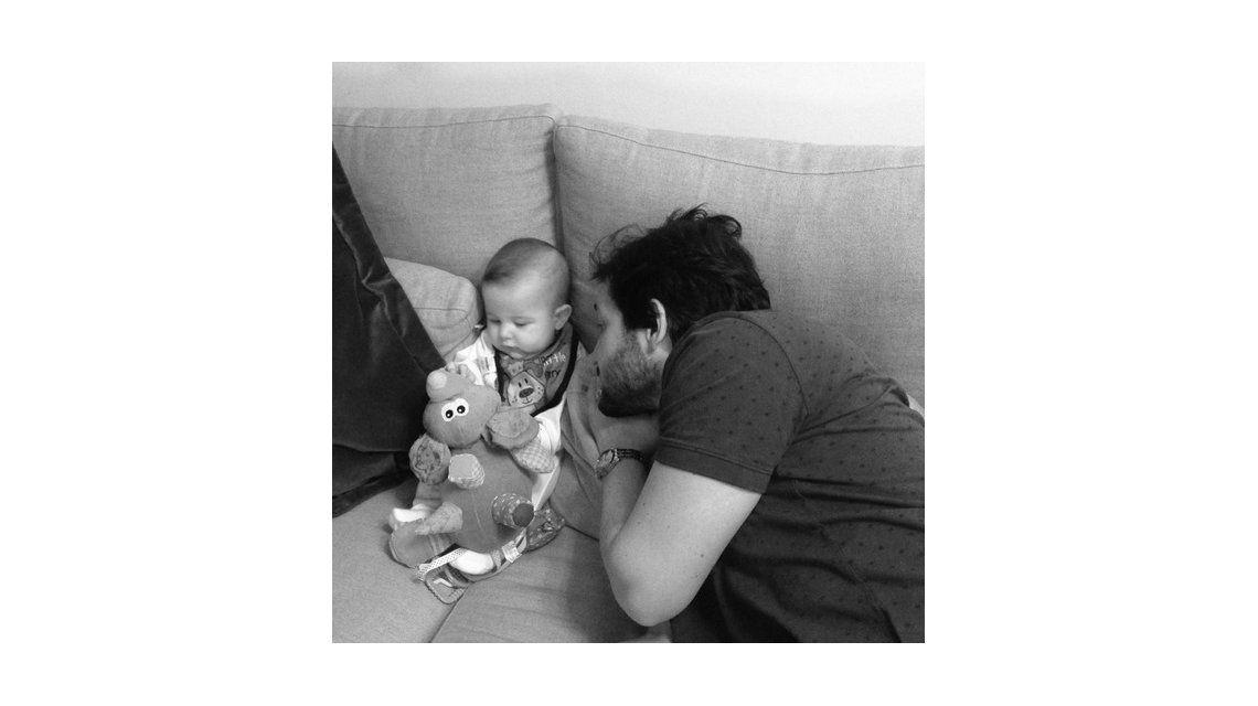 El álbum de León, el hijo de Sabrina Garciarena y Germán Paoloski: Cinco meses de puro amor