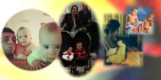 El reencuentro de Cinthia Fernández y sus hijas con Matías Defederico en Dubai