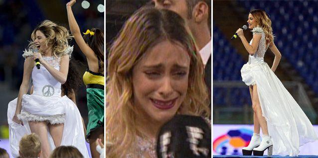 El mega show de Tini Stoessel en Roma: cantó en italiano, inglés y lloró de emoción
