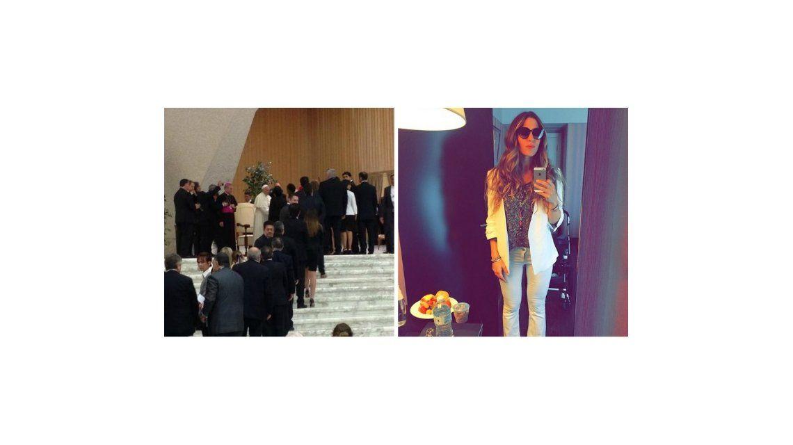 La emoción de Jimena Barón por su visita al Papa Francisco: Le sonrió a mi hijo; soy una mamá feliz