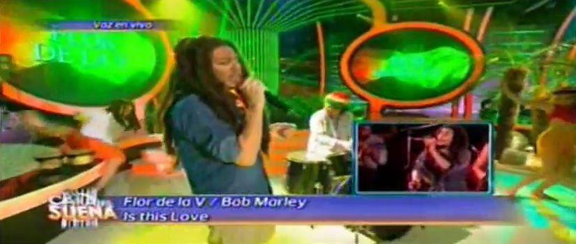 La divertida imitación de Flor de la V a Bob Marley : Dije, hoy no me afeito y salí