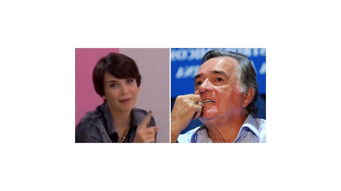 Amalia Granata dejó en offside a Barrionuevo