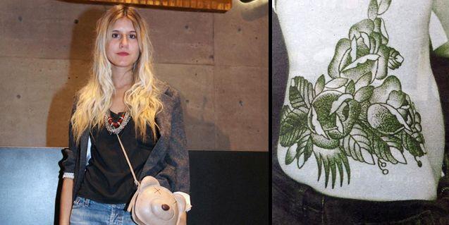Micaela, la única hija de Tinelli libre de tatuajes, no resistió la tentación