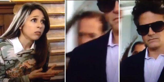 La reacción de Florencia Bertotti cuando vio a Julio Chávez en Guapas