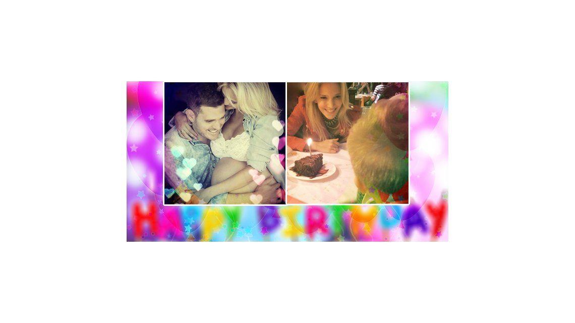 El festejo del primer cumpleaños de Noah, el hijo de Luisana Lopilato y Michael Bublé