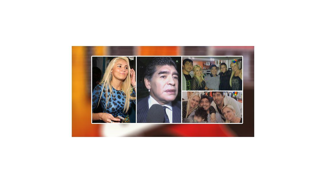 Diego Maradona se va a Dubai a levantar los cargos contra Rocío Oliva: la fiesta de despedida con Verónica Ojeda