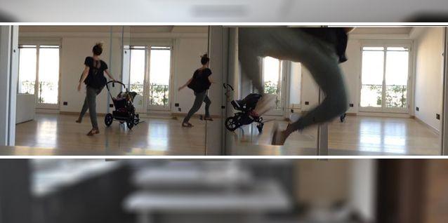 ¡Qué casa! La famosa actriz que bailó con su hijo en el cochecito para celebrar la mudanza