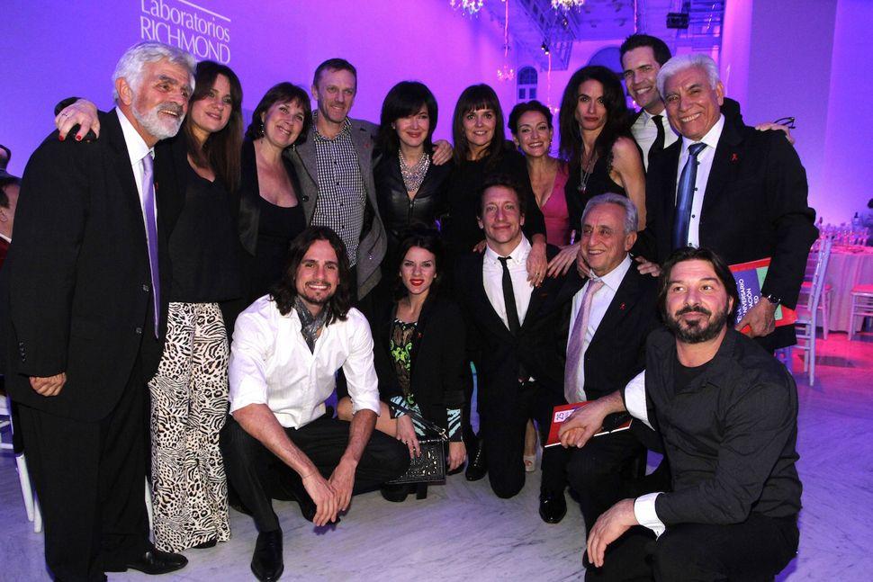 La elegancia de los famosos en la gala de Fundación Huésped
