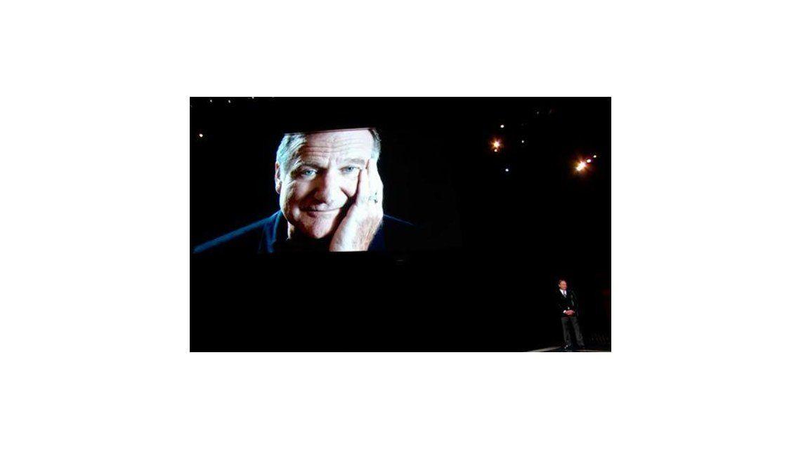 El conmovedor homenaje a Robin Williams