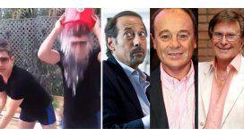 El look de Suar para el baldazo: nominó a Francella, Codevilla y Soldán