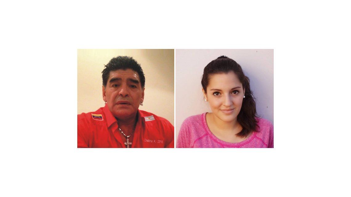 Los secretos del encuentro entre Diego Maradona y su hija Jana