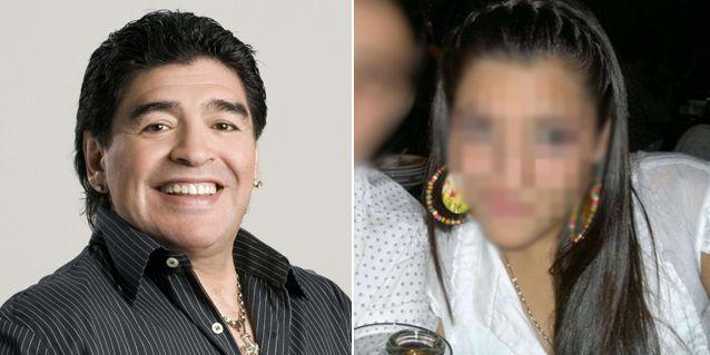 Diego Maradona conoció a su hija Jana en un encuentro íntimo lleno de emoción