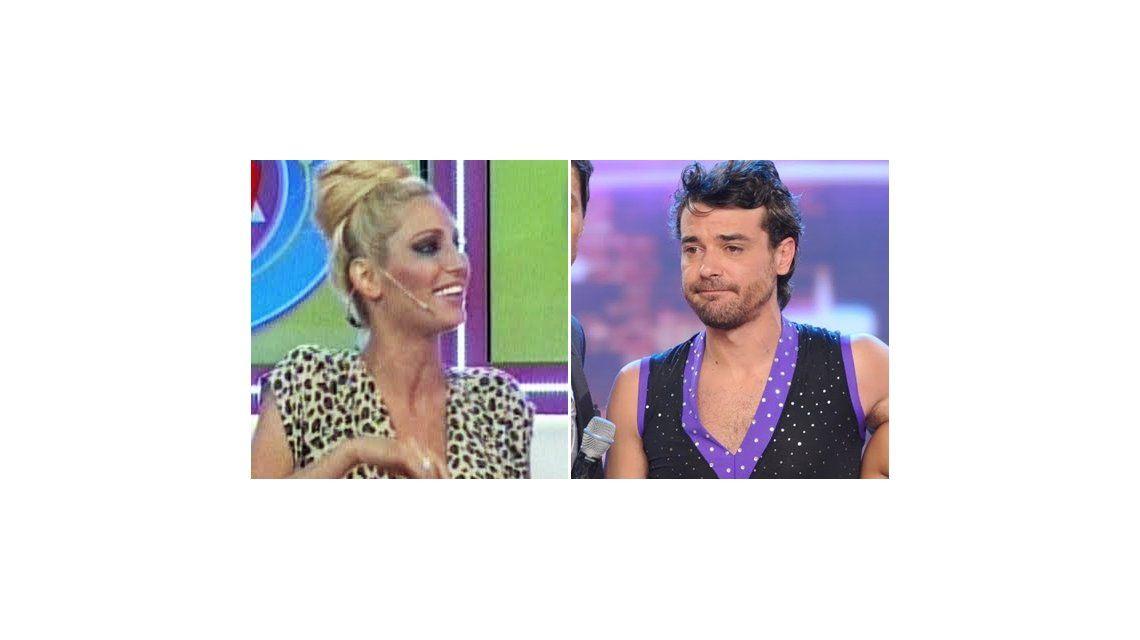 El inesperado ataque de Vicky Xipolitakis a Pedro Alfonso: Él no quería estar en el Bailando