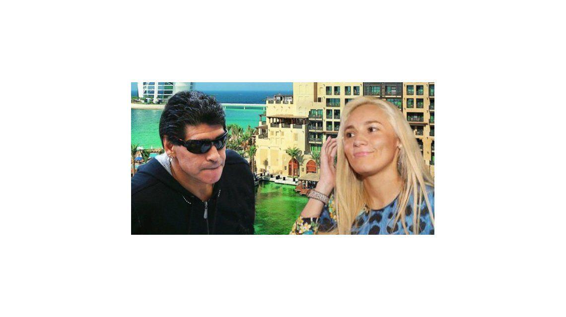 Maradona todavía no levantó la denuncia a Rocío Oliva y ella sigue sin poder salir del país