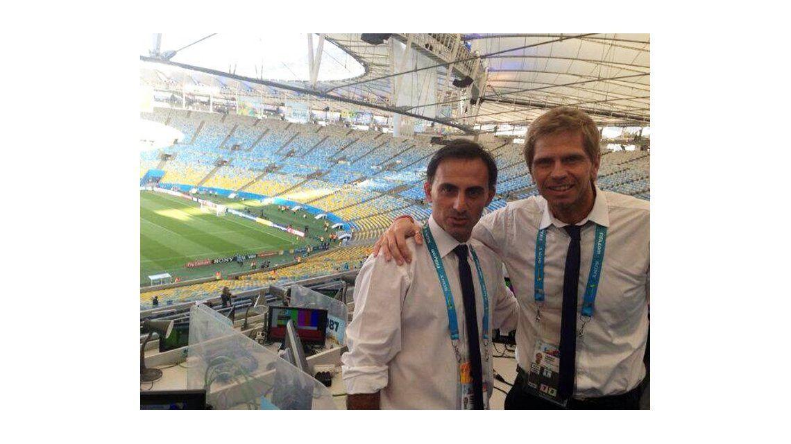 Diego Latorre y el Pollo Vignolo se suman a Fútbol para Todos