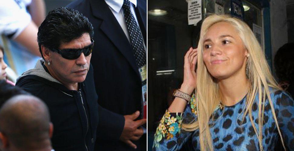 Principio de acuerdo entre Maradona y Rocio Oliva: si Diego retira los cargos contra ella habrá reconciliación y vuelta a Dubai