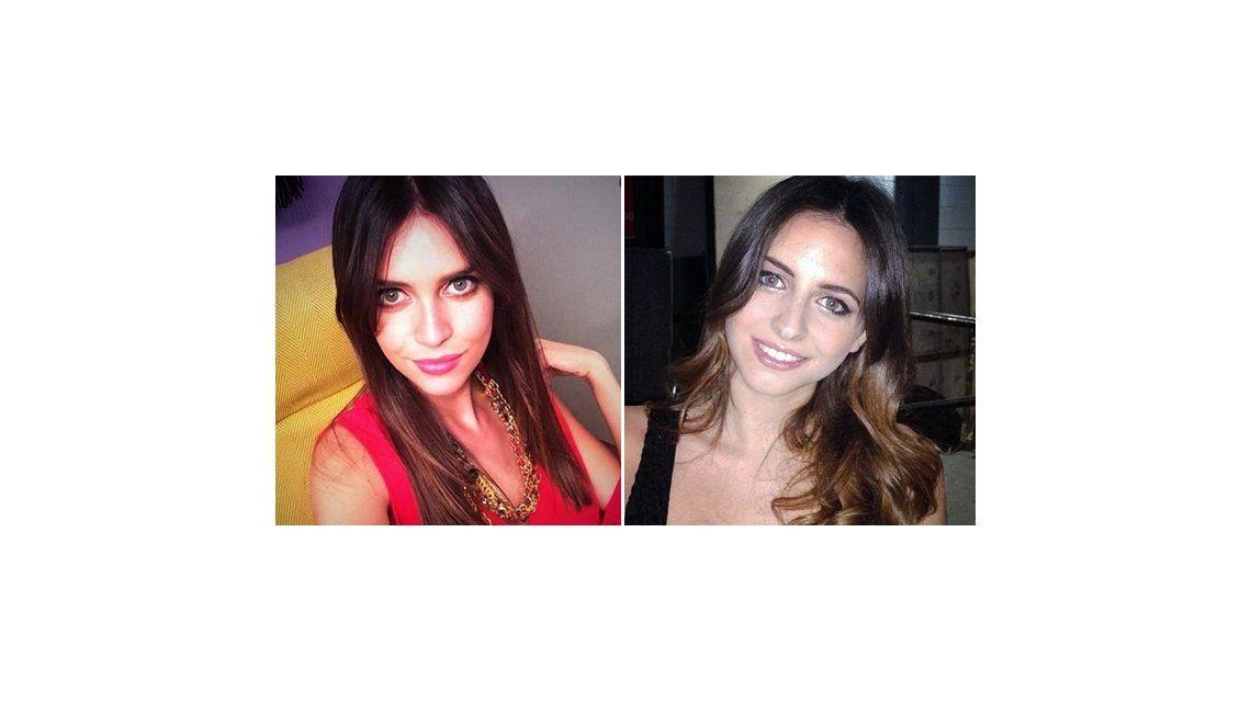 Zaira Nara casi gemela de Annalisa Santi: le copia el look y todos opinan