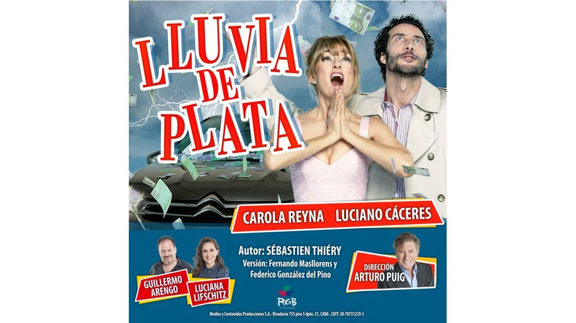 Se reestrena Lluvia de plata con el debut de Carola Reyna