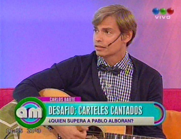 Carlos Baute cambió la letra de un tema: Quién te chu... las tet.. como yo
