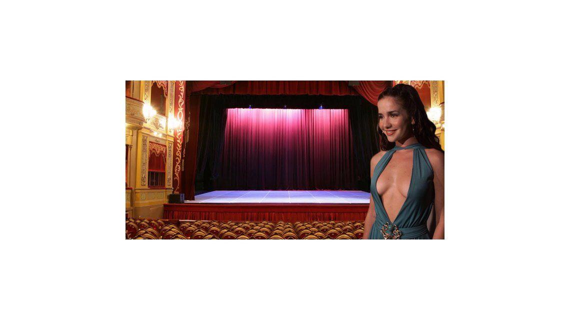 Natalia Oreiro al teatro en 2015