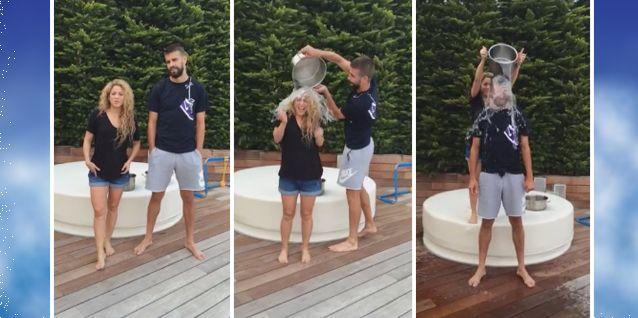 Embarazados, Shakira y Piqué se suman al baldazo de agua fría y desafían al Papa Francisco