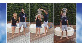 Embarazados, Shakira y Piqué se suman al baldazo de agua fría y desafían al Papa