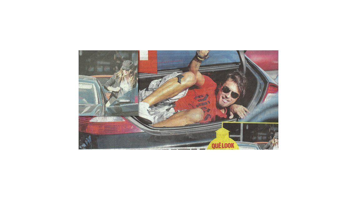 Impresentable: Karina Jelinek escondió a su nuevo novio en el baúl de su auto