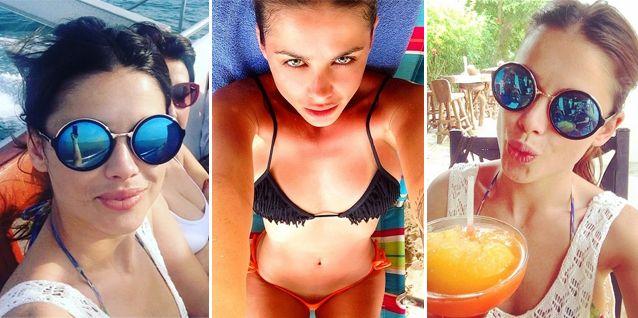¿Se le escapó o fue a propósito? La foto hot de Vitto Saravia en bikini y algo más...