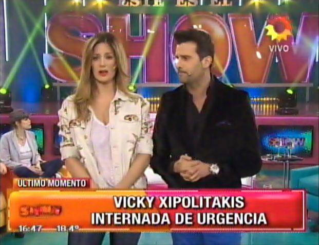 Los detalles de la internación de Vicky Xipolitakis