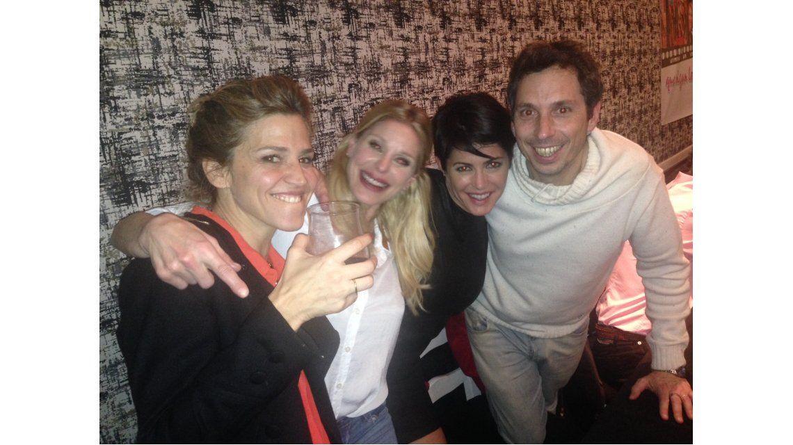 Pamela David y el equipo de Desayuno Americano festejaron el año de éxito