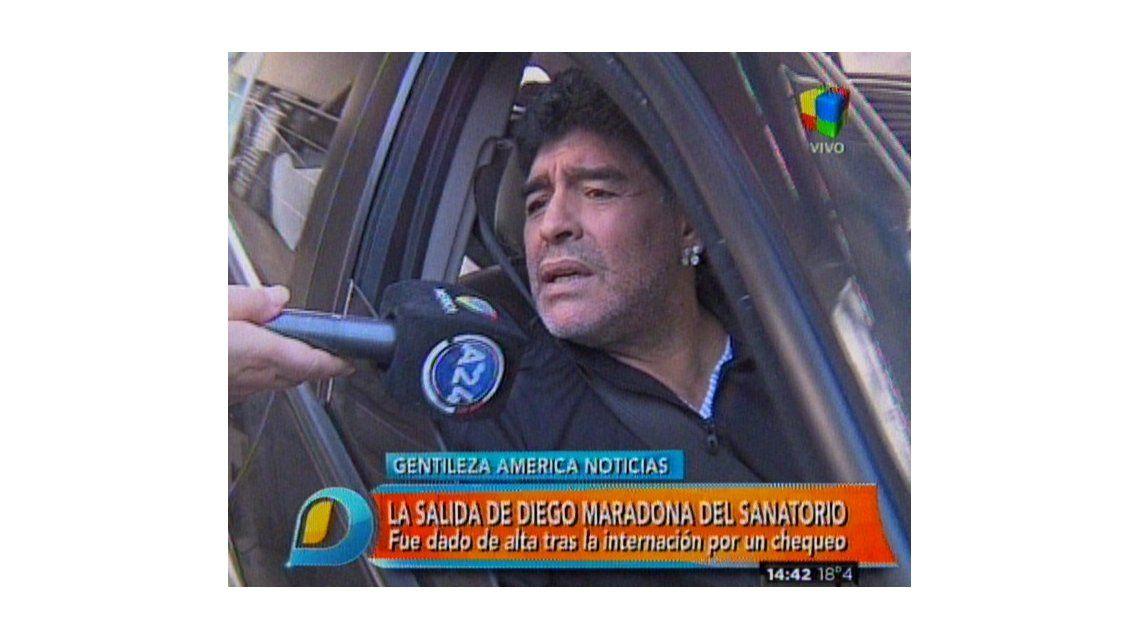Diego Maradona furioso con la inseguridad: Que Insaurralde se deje de cog..  y ponga más policías en las calles