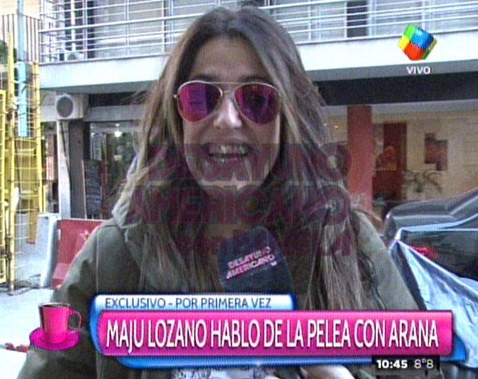 Maju Lozano habló sobre su pelea con Facundo Arana: Me sentí muy maltratada
