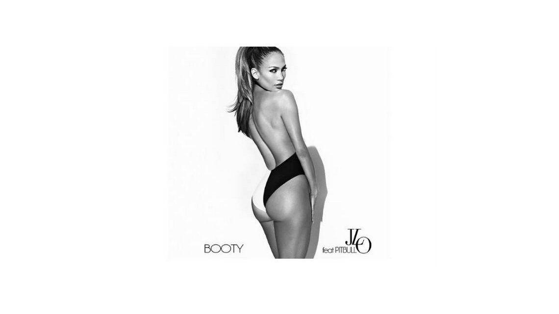 Jennifer Lopez mostró su cola en el tapa del nuevo disco