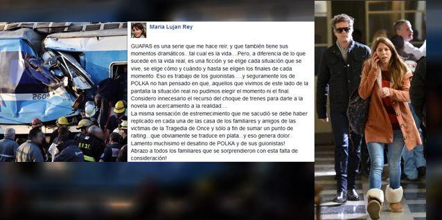 En Guapas recrearon la tragedia de trenes en Once y desató la furia de los familiares de las víctimas