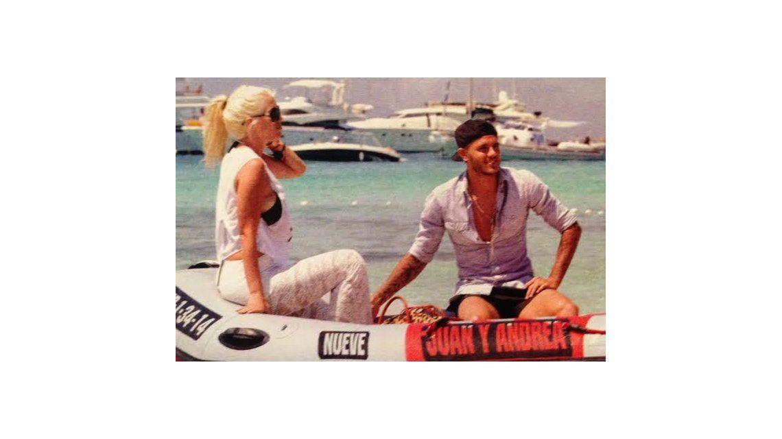 El álbum íntimo de la luna de miel de Wanda Nara y Mauro Icardi
