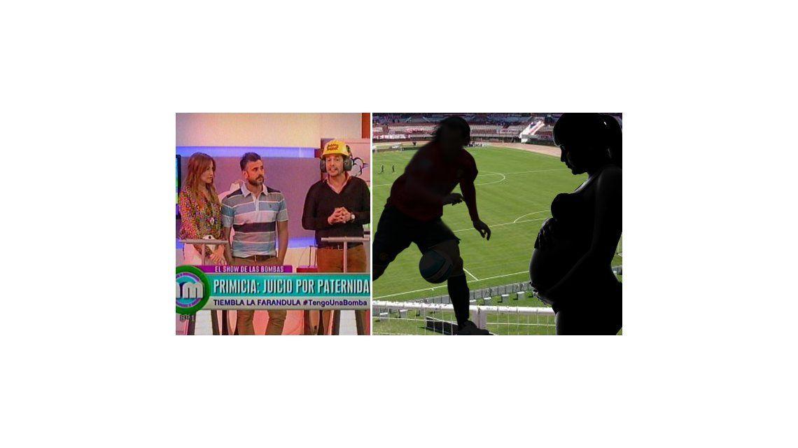 Jugador de fútbol deja a su novia embarazada y ella reclama paternidad