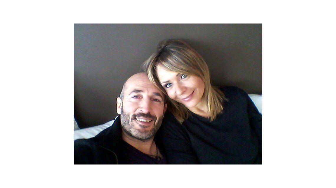 Luna de miel en Chile: Evelyn y su novio y una romántica selfie