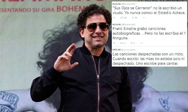 Andrés Calamaro salió a bancar a Fito Páez por su canción contra Julia Mengolini