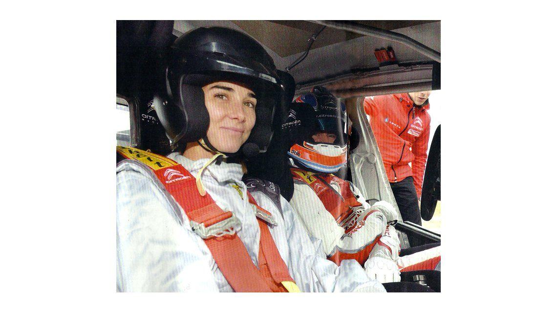 Juana Viale, de conductora de los almuerzos de Mirtha a piloto de autos